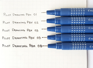 Pilot Estilografo Drawing Pen Azul