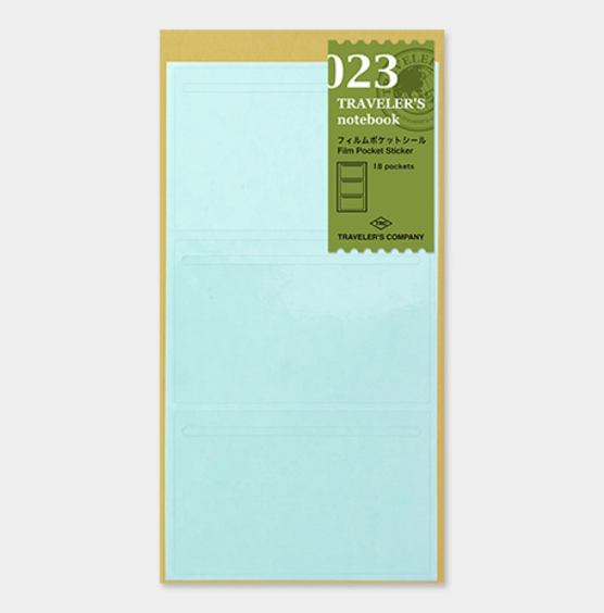Midori Traveler's Notebook Refill Pocket Sticker Regular 023