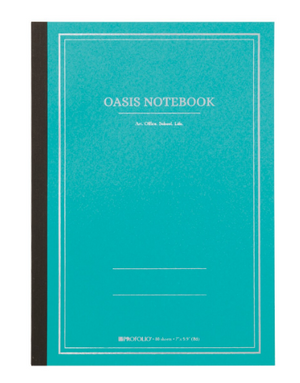 Profolio Oasis Notebook Winter Green