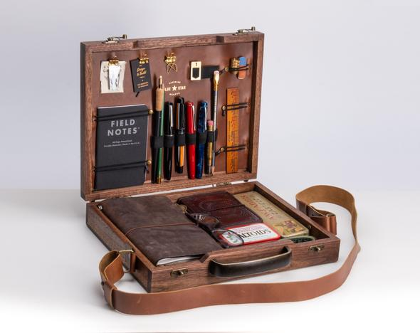 Blue Star Crafts Writers Briefcase