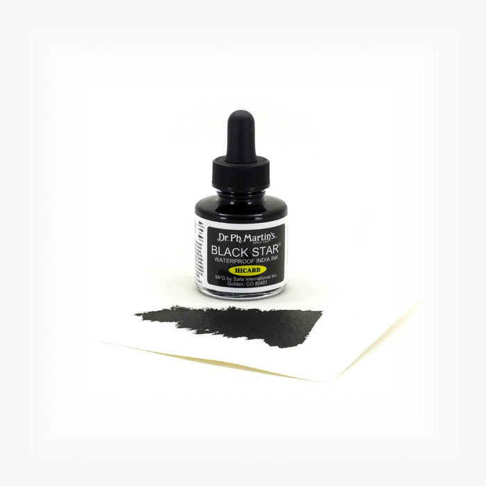 Dr. Ph. Martin's Ink Black Star Hicarb