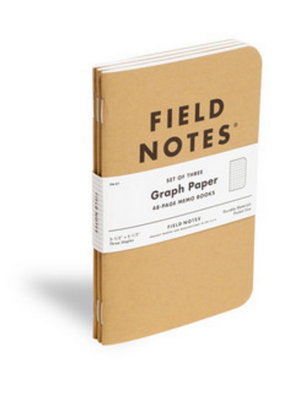 Field Notes Set de Libretas Cuadro