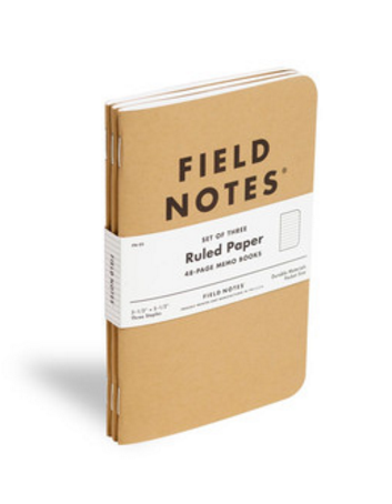 Field Notes Set de Libretas Raya