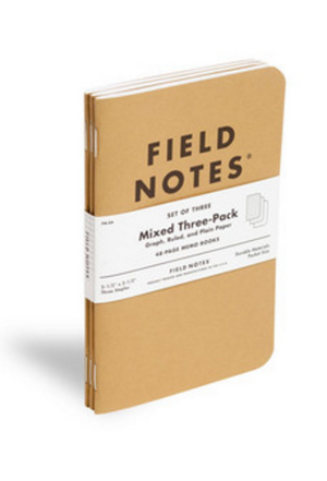 Field Notes Set de Libretas Mix