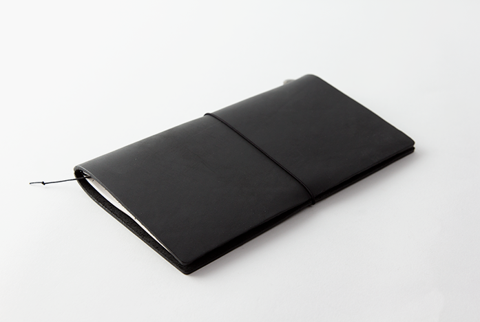 Midori Traveler's Notebook Negro Regular