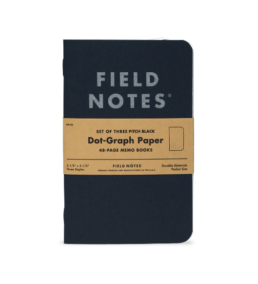 Field Notes Pitch Black