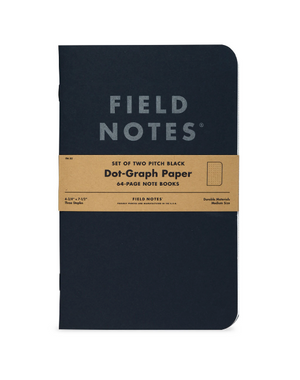 Field Notes Pitch Black Large