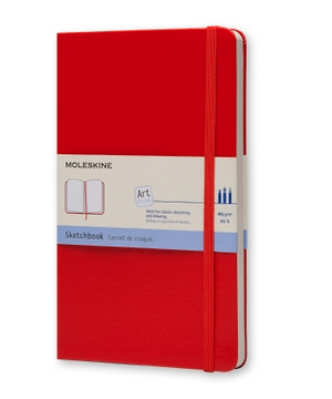 Moleskine Sketchbook Rojo