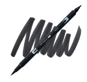 Tombow Dual Brush Pen Negro N15