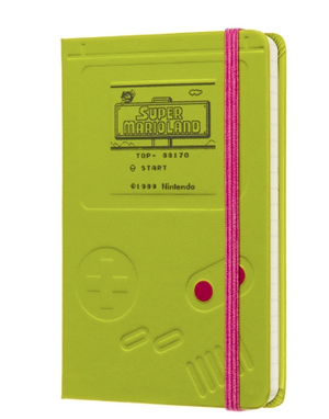 Moleskine Super Mario - Gameboy