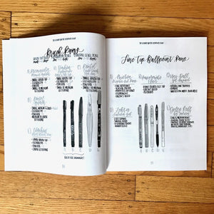The ultimate lettering guide