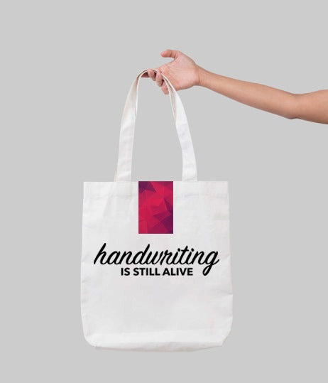 The Lettering Tote Bag