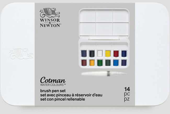 Winsor & Newton Watercolor Cotman Brush Set