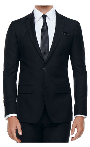 CLINTON SLIM FIT SUIT (BLACK)