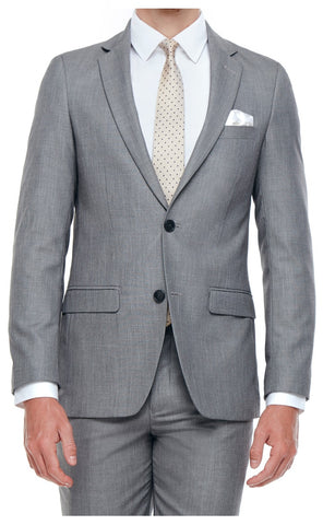 CLINTON SLIM FIT SUIT (GREY)