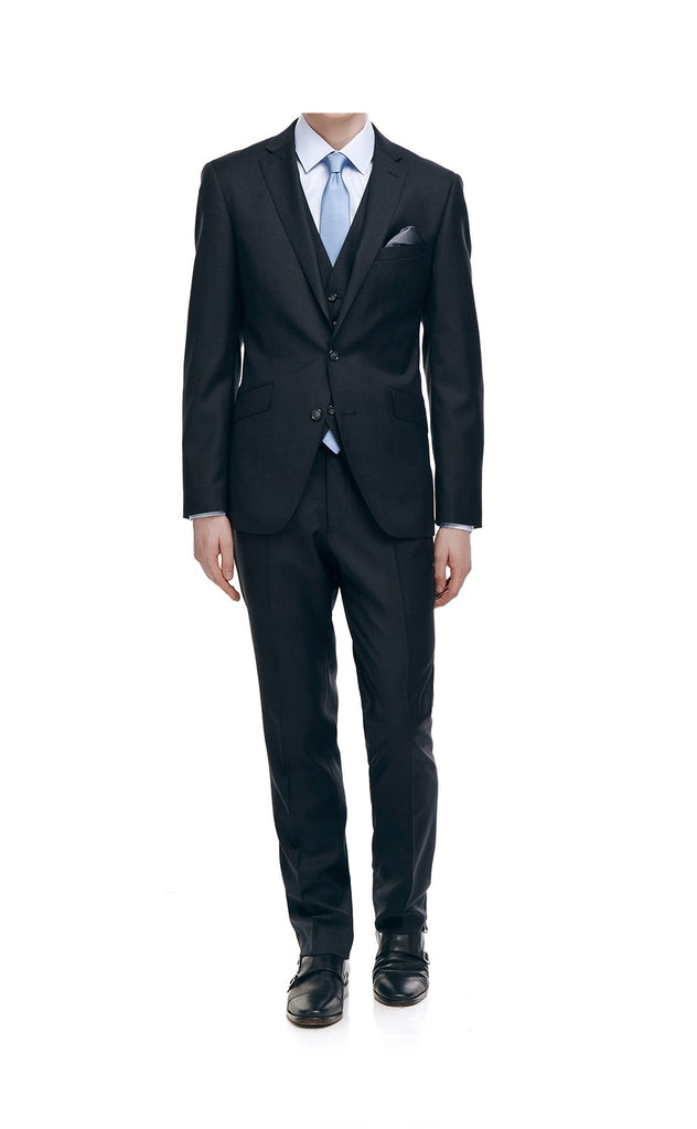 DEVONTE CLASSIC FIT SUIT (CHARCOAL)