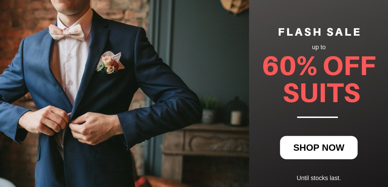 Wedding suit clearance sale