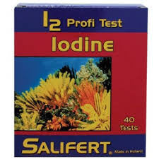 Salifert Iodine Profi-Test (Made in Holland) (Rec Retail $44.00)
