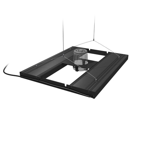 "AquaticLife T5 HO Hybrid 4-Lamp Mounting System Fixtures 24"" Black  (Rec Retail $438.00)"