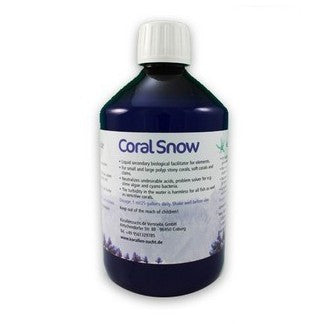 Coral Snow - liquid secondary biological facilitator for elements. 250ml