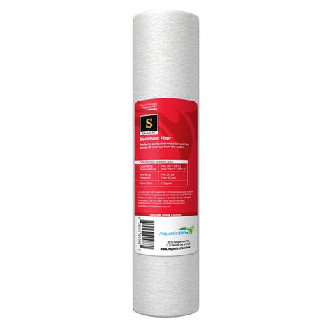 Aquaticlife 1Micron Prefilter cartridge (Rec Retail $8.95)