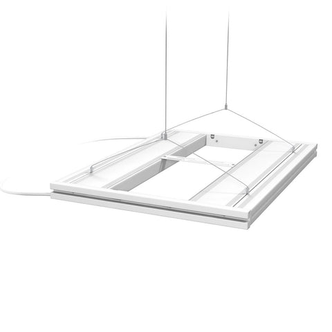 "AquaticLife T5 HO Hybrid 4-Lamp Mounting System Fixtures 24"" White"