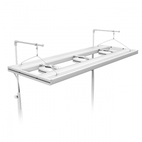 "AquaticLife T5 HO Hybrid 4-Lamp Mounting System Fixtures 61"" White  (Rec Retail $840.00.00)"