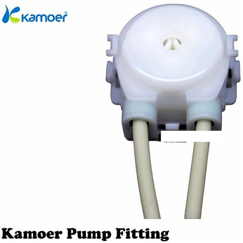 Kamoer Pump white fitting with pharmed tube (size 2-4mm)