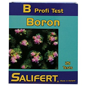 Salifert Boron Profi- Test (Made in Holland) (Rec Retail $29.00)