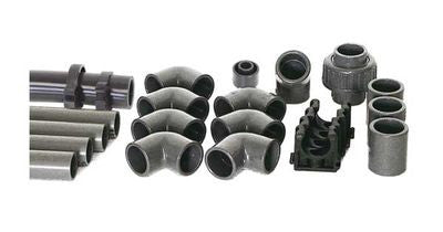 Inlet hose and fittings