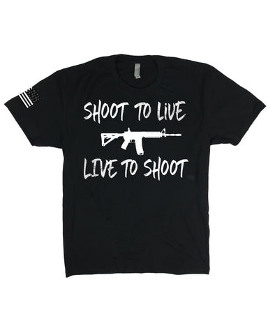SHOOT TO LIVE, LIVE TO SHOOT