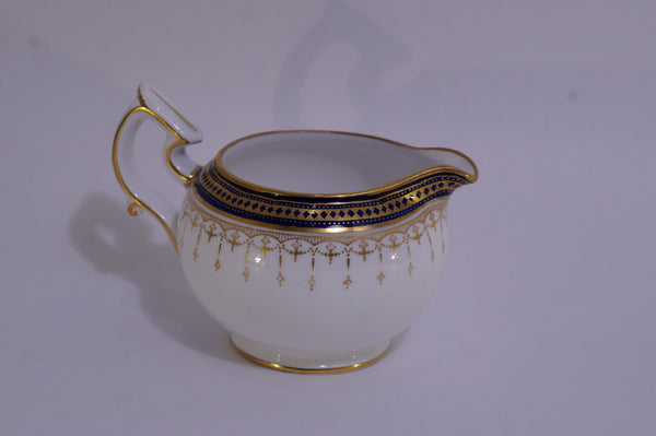 Spode Copelands China Navy and Gold Set Creamer