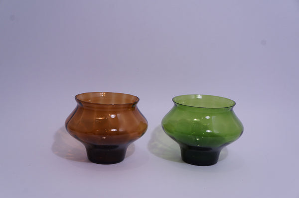 Coloured Hourglass Snack Bowl