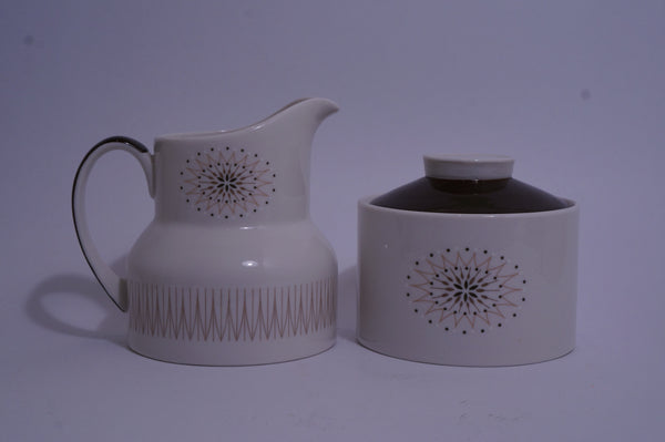 Royal Doulton Morning Star Sugar and Creamer Set