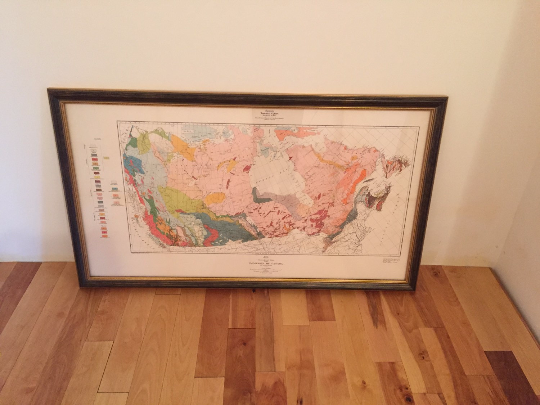 Geological Map of the Dominion of Canada