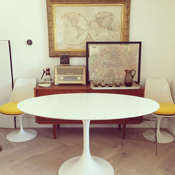 Oval Tulip Table (local sales only)
