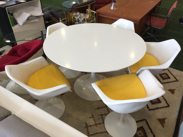 Burke tulip chairs (pair)