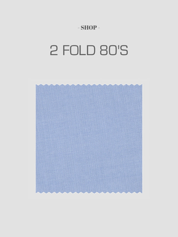 Made To Order Two Fold 80s Shirts