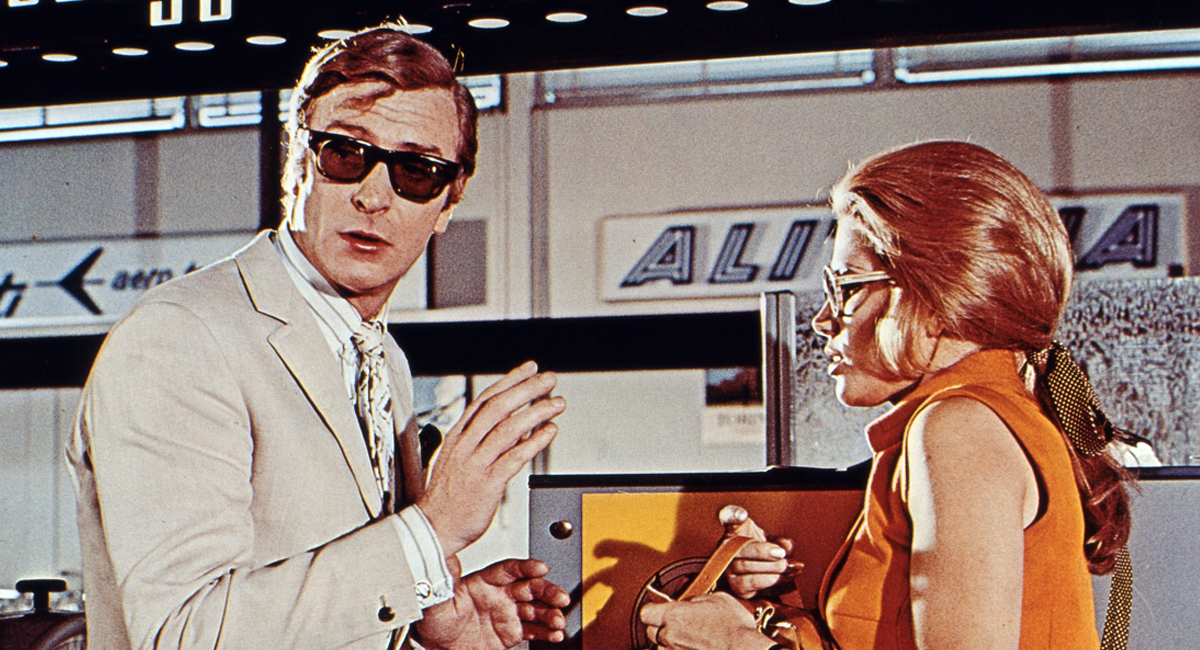 Michael Caine wearing Curry & Paxton sunglasses