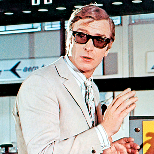 Curry & Paxton | Michael Caine wearing Ivan
