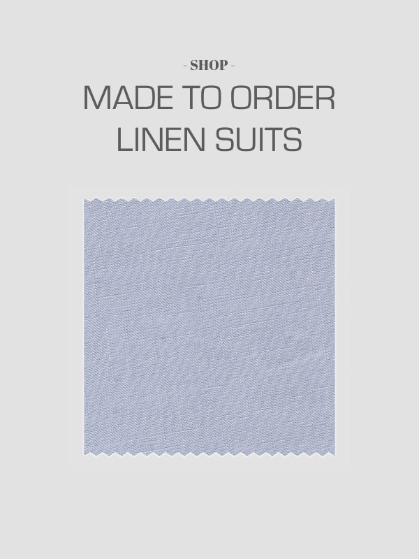 Mason & Sons Made To Order Linen Suits