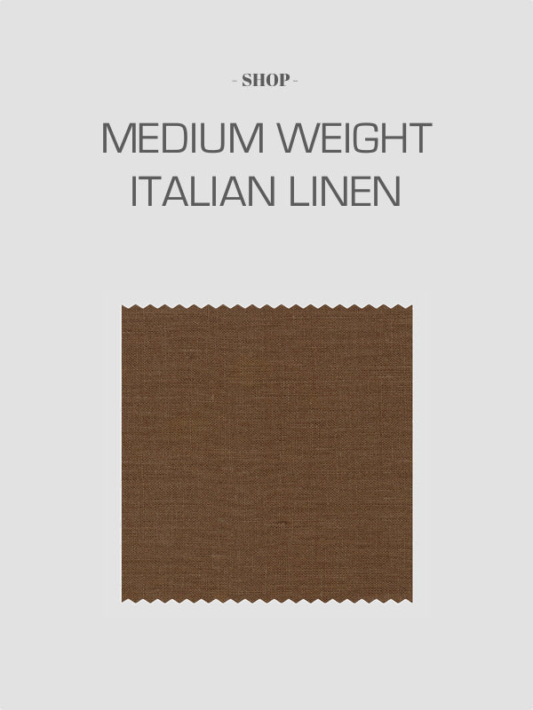 Made To Order Medium Weight Italian Linen Special Order Suits