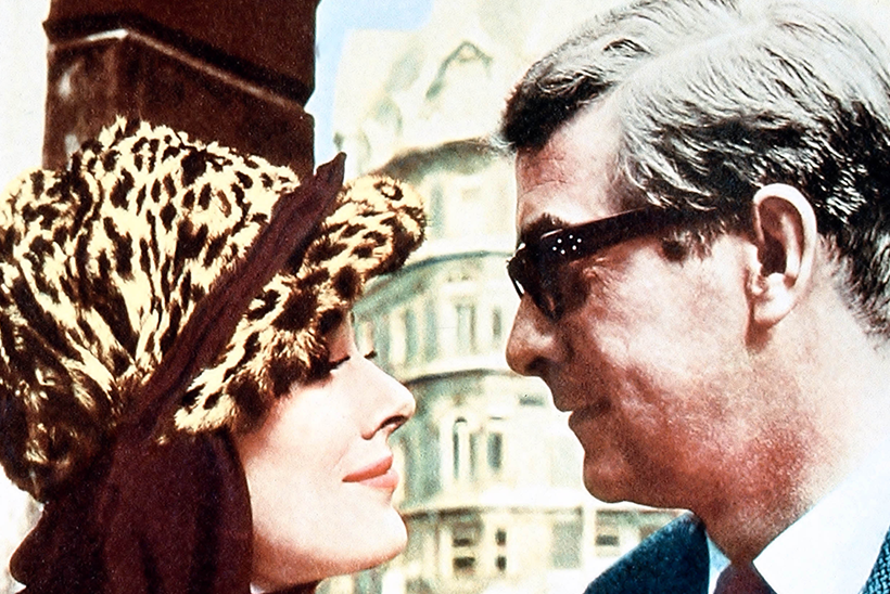 Curry and Paxton | Michael Caine Harry Palmer and Courtney
