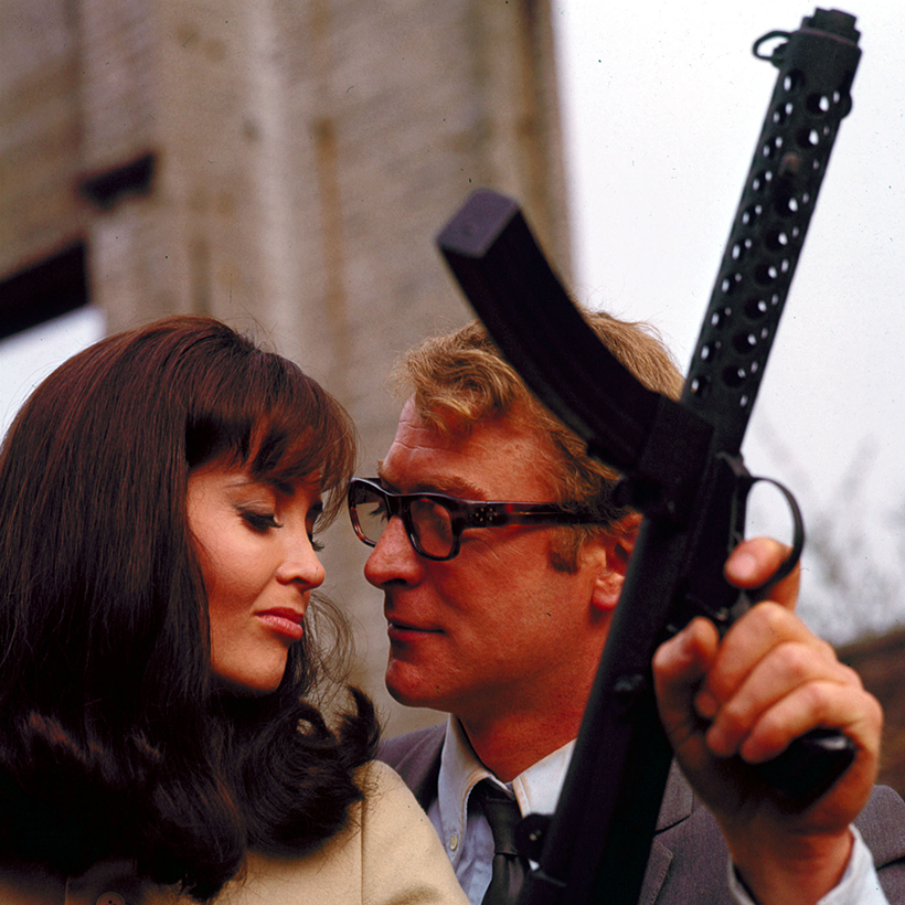 Curry and Paxton | Michael Caine Harry Palmer gun
