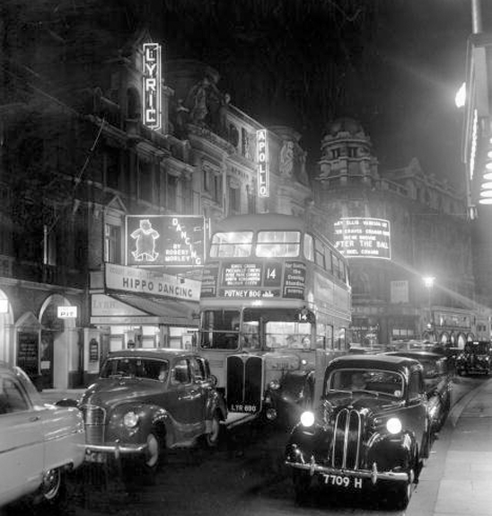 Michael Fish began his career amid the bright lights of Shaftesbury Avenue in 1955