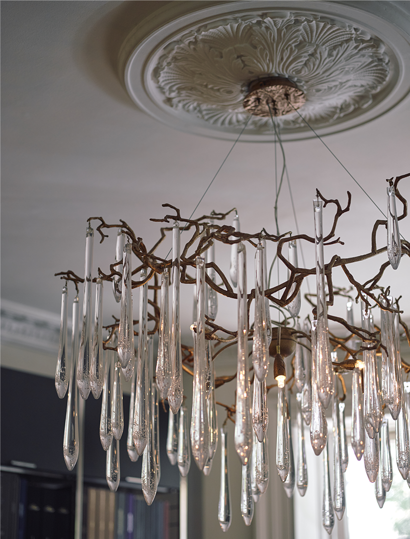 Photography by Alexander James - chandelier