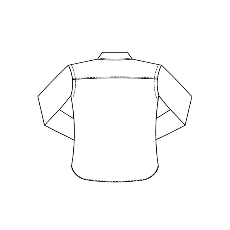 Shirt back plain