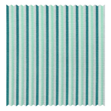 Mason & Sons | Green & Mint Multicolour Bengal-Stripe Fine Twill (2 Fold 80's) -1