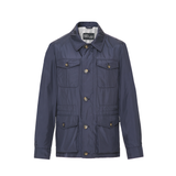 Mason & Sons | Anthony Sinclair Safari Jacket - Navy - 1