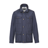 Mason & Sons | Anthony Sinclair Safari Jacket - Navy - 2
